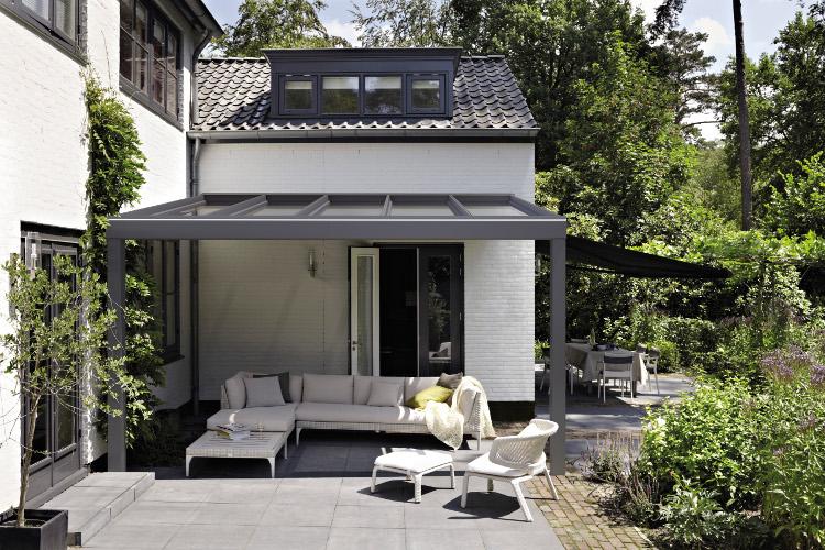Terrasoverkapping Kleine Tuin : Casa